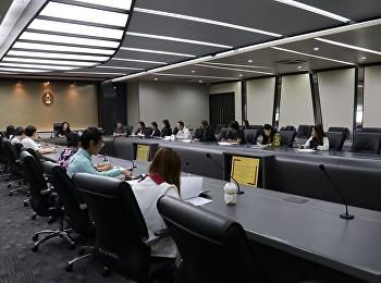 ประชุมคณะกรรมการดำเนินงานขับเคลื่อนยุทธศาสตร์มหาวิทยาลัยราชภัฏสวนสุนันทา ประจำปีงบประมาณ พ.ศ. 2563 (Fast Track)