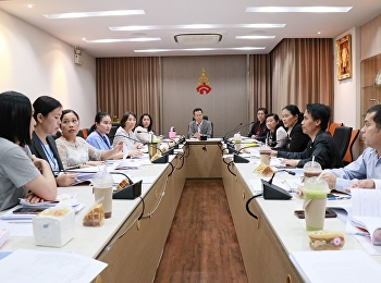 Management Division arranges the Board Director of the Office of the President Meeting