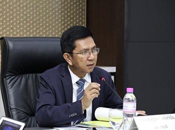 ประชุมคณะกรรมการบริหารมหาวิทยาลัย ครั้งที่ 2/2563