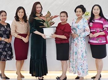 แสดงความยินดีกับ นางจุณีรัตน์ จันทร์นิตย์ ในโอกาสเข้ารับตำแหน่ง รักษาการในตำแหน่งผู้อำนวยการสำนักงานอธิการบดี