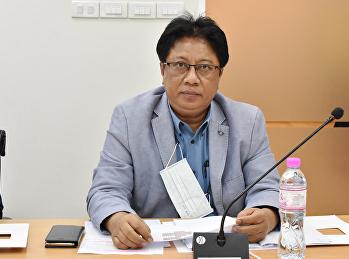 ผู้ช่วยศาสตราจารย์ ดร.ปรีชา พงษ์เพ็ง รองอธิการบดีฝ่ายบริหาร พร้อมด้วยคณะกรรมการฯ เข้าร่วมประชุมคณะกรรมการกำกับติดตามการบริหารงบประมาณ มหาวิทยาลัยราชภัฏสวนสุนันทา ประจำปีงบประมาณ พ.ศ. 2564