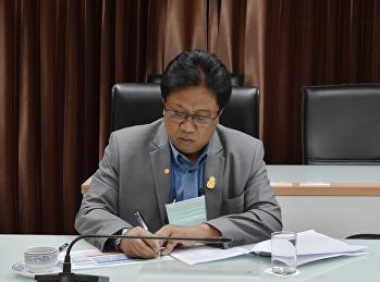 ผศ.ดร.ปรีชา  พงษ์เพ็ง เข้าร่วมประชุมหารือแนวทางการบริหารจัดการงบประมาณ สำนักวิทยบริการและเทคโนโลยีสารสนเทศ มหาวิทยาลัยราชภัฏสวนสุนันท